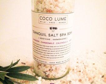 Tranquil Spa Salt Soak 250g