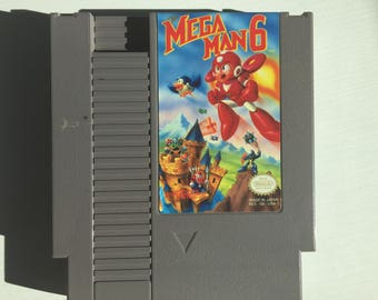 Original NES Game: Mega Man 6