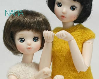 1/6 resin doll head for Pureneemo XS body and Obitsu body 24 Ver.2