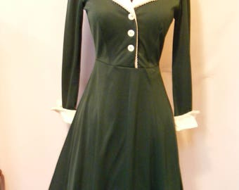 Women's Darling 1960's 1970's Junior's Dress Medium