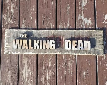 The Walking Dead Sign