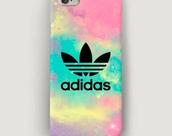 Gradient iPhone 7 Plus Case Adidas, iPhone 6 Case, Adidas iPhone Case, iPhone SE Case, Phone 7 Cover, Case for iPhone 6S, Stains Apple Case