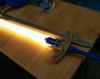 TEMPLATES for Saber's Excalibur from Fater series for cosplay