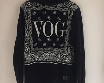 Hoodie black white patterns