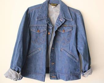 Vintage Wrangler Denim Jacket. Made in USA.