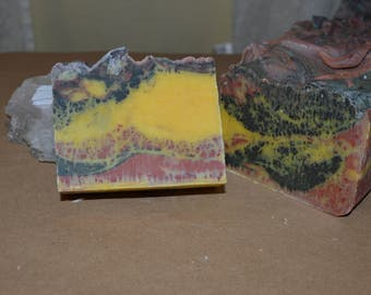 Happy hippie- patchouli and cedarwood grounding hydrating bar