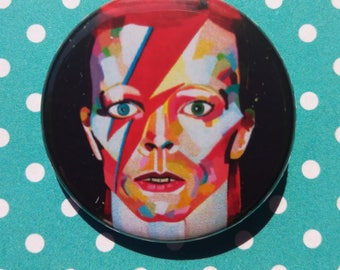 David Bowie pin badge