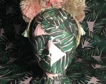 Pom Pom & Star Headpiece