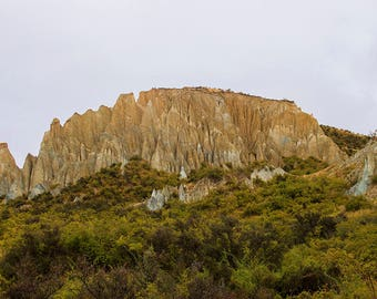 Cliffs, Landscape, Photography, Scenery, Digital photography, Instant download, Wall art, Nature, Photo, Home decor, Print, Natural, Art, NZ