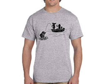Moose-N-Bear Wear Fishing T-Shirt