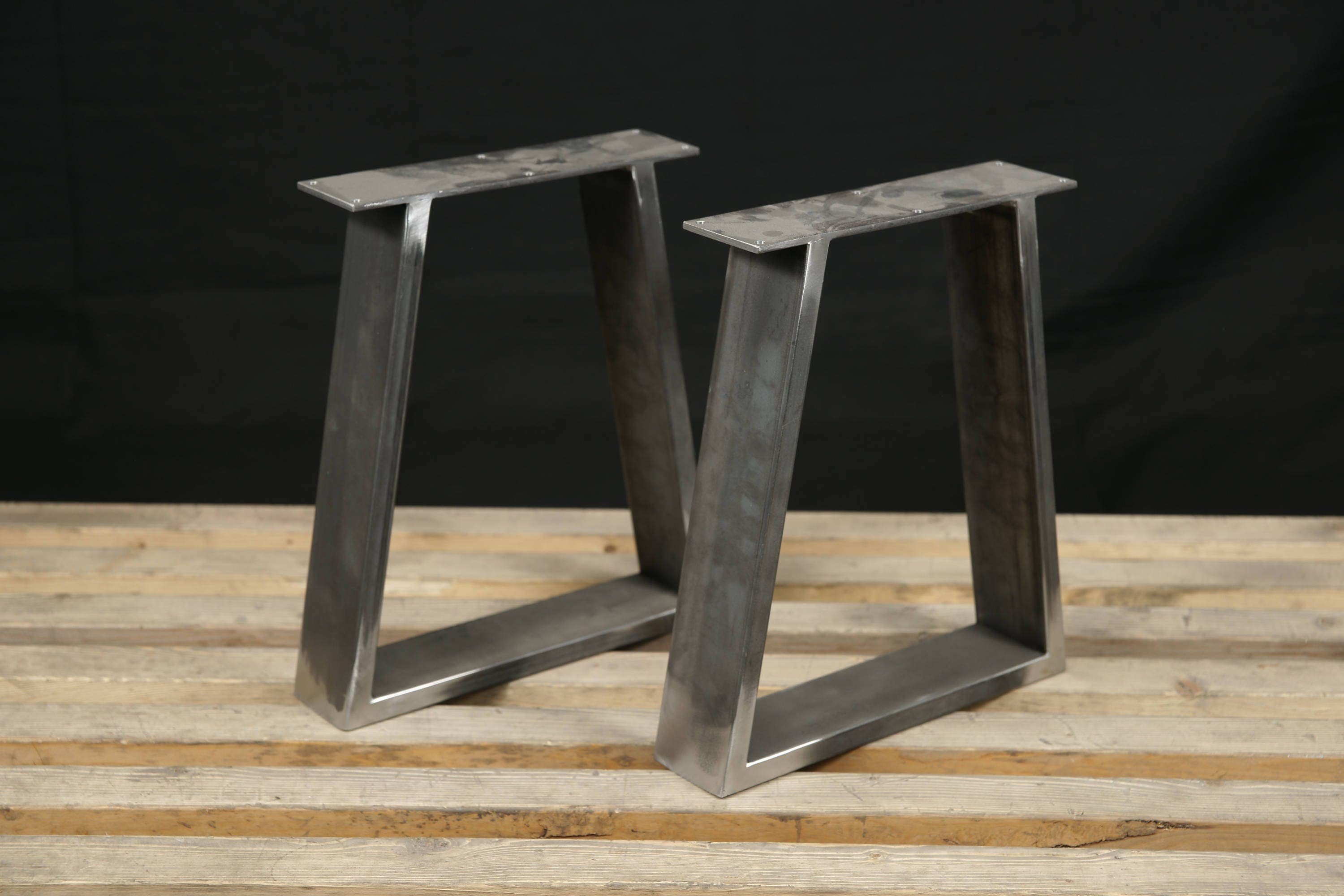 Steel bench legs coffee table legs metal legs square bench Aluminum coffee table legs