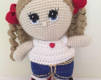 Jenny - Amigurumi Doll