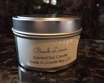 Beach Linen Soy Candle