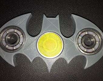 Bat shaped batman like fidget spinner