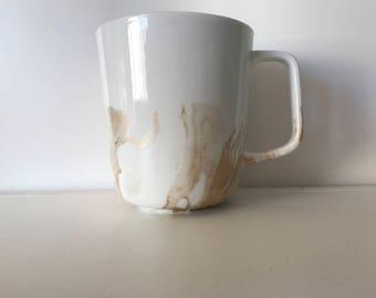 Gold Marbled Mug