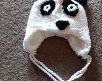 Panda Hat (child size)