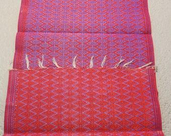 Purple & red Recycled Plastic Mat, reversible mat, plastic floor rug
