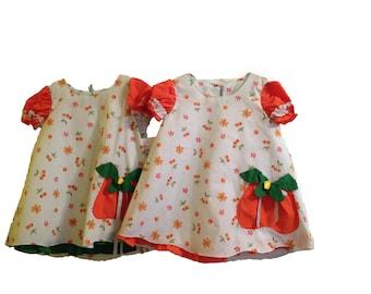 pineapple pocket dress 2 years old