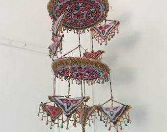Handmade Vintage Bohemian Mobile Decoration