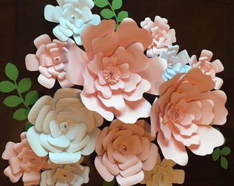 20% off Use code Springsale17-Paper Flowers-Set of 13