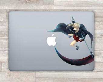 Soul Eater MacBook Decal Anime MacBook Sticker Laptop Decal Laptop Sticker Maka Albarn Decal MacBook Pro Retina Air Death Scythe Vinyl bn349