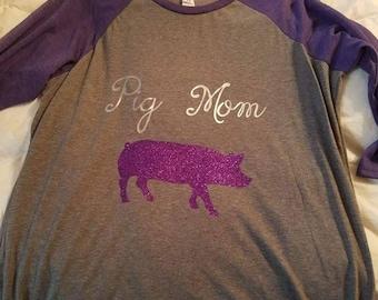 Pig mom shirt