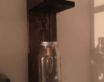 Mason Jar Lighting Fixture