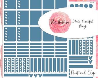 Niagara Planner Sticker Set