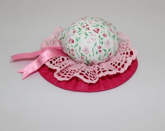 Pink and white Pin Cushion