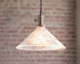 Pendant Lighting - Hanging Lamp - Glass Shade - Mod Pendant - Island Lamp - Pendant Fixture