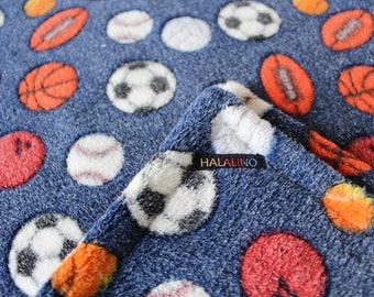 Baby / blankie / baby blanket / fleece / handmade / gift / ball / birth