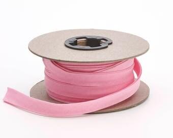 "Quilt binding, p/c, 5/8"" doublefold, 25 yds, Pink"