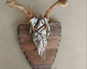 Arrow Head Deer Head Plaque