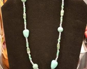 Beautiful handmade beaded necklace