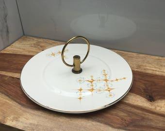 Mid century modern serving plate