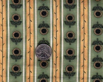 Mini Sunflower fabric - 100% cotton