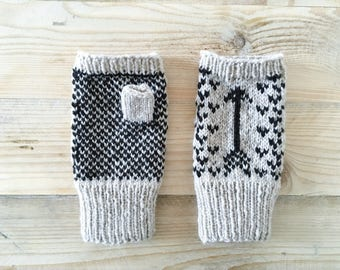 Compass Point Mittens - Pattern
