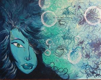 Under Water Goddess