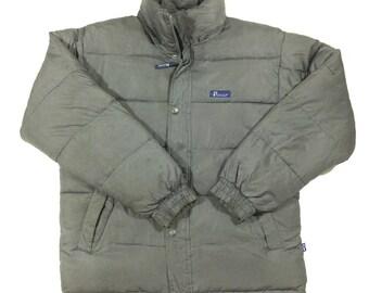 Vintage Penfield Down Jacket Grey Mens Medium