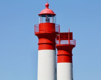 Lighthouse on the island of Aix, France