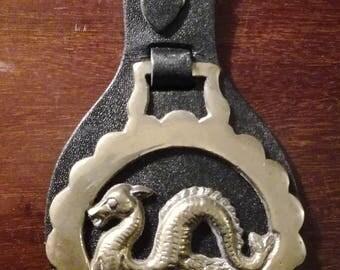 Vintage Horse Brass, Loch Ness Monster