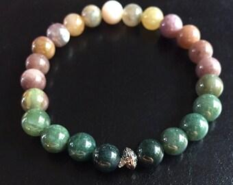 Fancy Jasper Bracelet - 8mm beads