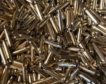 223 Brass Casings 500 Once Fired Polished Casings