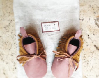baby/kids eco-designed leather shoe