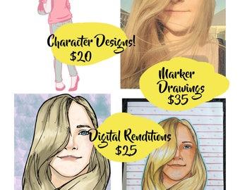 Portrait- Digital Rendition