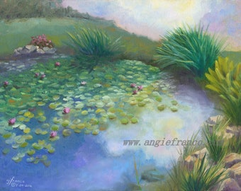 Lilly Pads, Giclee Print