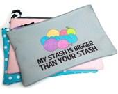 Knitting Bag, Yarn Stash, Project Bag
