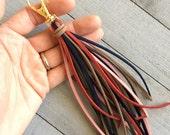 tassel clip with silver clip