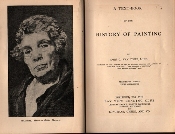 A Text-Book of the History of Painting - John C. Van Dyke - 1913 - Vintage Art Book