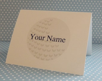 GOLF Note Cards Personalized Gift Pack Free Shipping